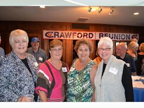 Photo: Brenda Smith Clark, Judy Morgan Blackwell, Anita Smith and Marti Simon Bundy