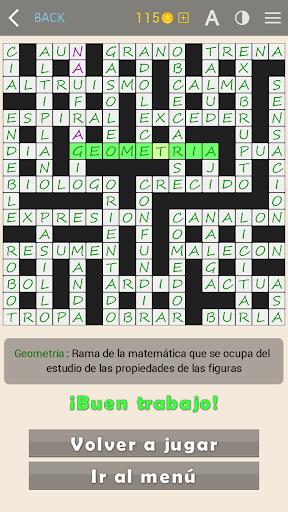 Crosswords - Spanish version (Crucigramas) apkpoly screenshots 19