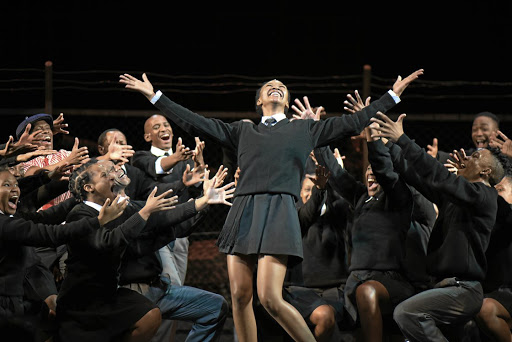 SA's most successful theatrical export, Sarafina!, debuts at the Nelson Mandela Stage.
