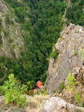 Photo: Stąd piękna księżniczka na koniu przeskoczyła dolinę Bode, uciekając przed złym księciem, o równie złych zamiarach.