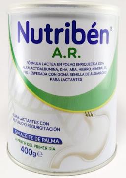 Formula Lactea Nutriben   AR Para Lactantes x 400gr