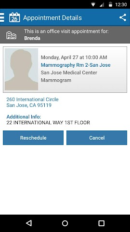 android KP Preventive Care (NCAL only) Screenshot 1