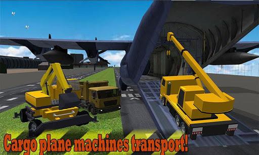 重型机械运输机喷气
