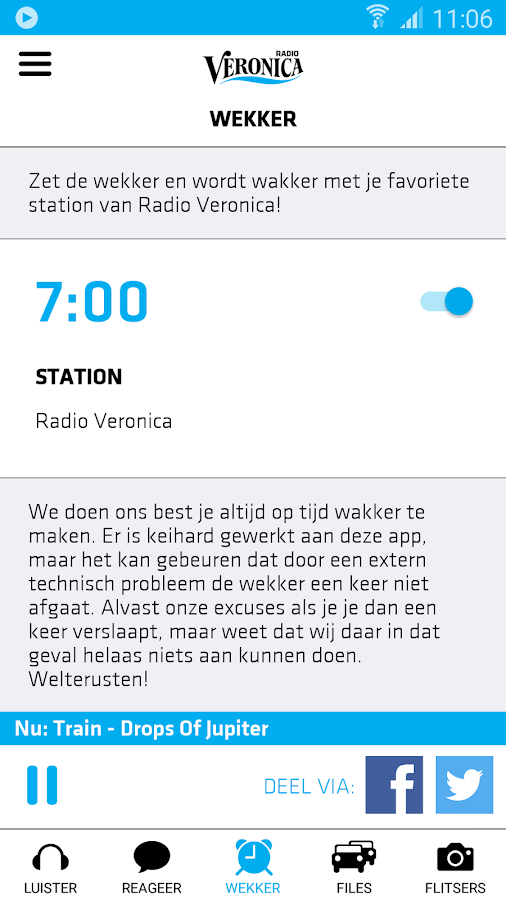 Radio Veronica- screenshot