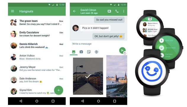 Google actualizeaza Hangouts la versiunea 4.0