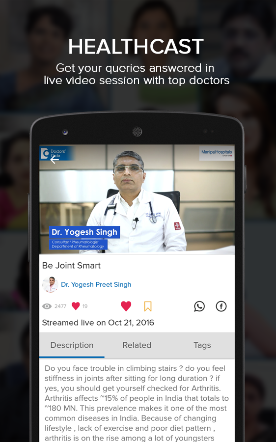 Doctors' Circle- Ask Doctors- screenshot
