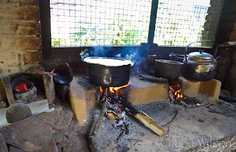 Photo: Wood Fired Kitchen Bawa's Place Matale Sri Lanka