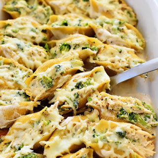 Pasta Shells Alfredo Sauce Recipes.