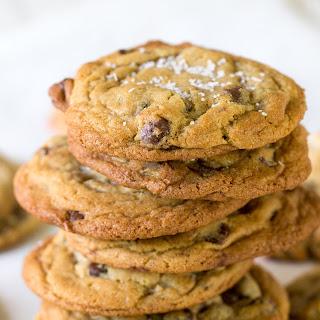 Salted Brown Sugar Chocolate Chip Cookies.