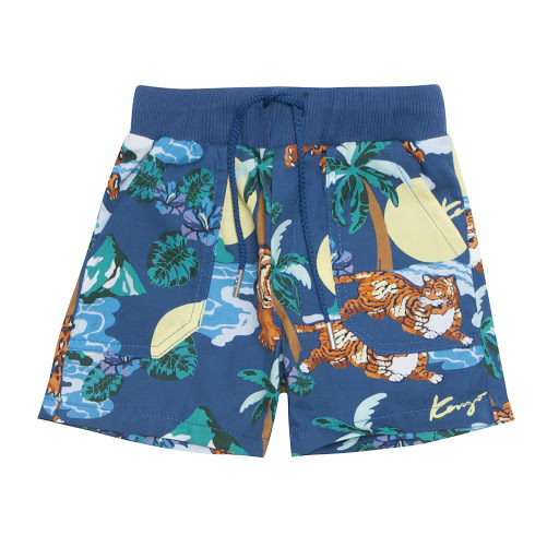 Primary image of Kenzo Kids Jungle Print Shorts