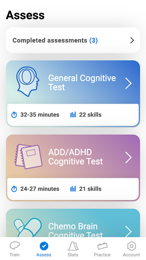 CogniFit Brain Fitness 4.1.3 screenshots 2