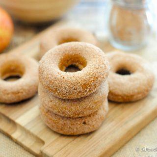 Apple Spice Doughnuts