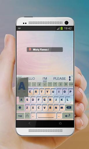 無料个人化Appのミスティ炎 AiType テーマ|記事Game