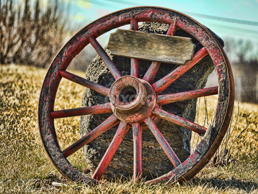 Aged by Kim Rogers-Krahel - Artistic Objects Still Life ( country, rustic, rural, old, backroads, barn, silo, farm, crops, family,  )