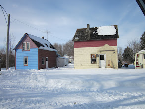 Photo: Joel went to a small Saskatchewan town.