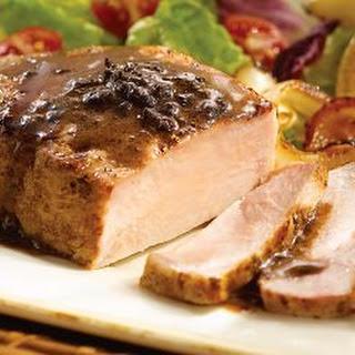 Tuscan Balsamic Glazed Pork Chops Recipe