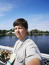 Photo: Sjølvportrett frå brua. Karlstad, den 25. juli 2012