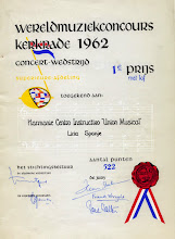 Photo: cartell concurs de kerkrade 1962