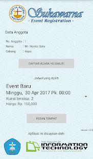 GBIS Event Registration - náhled
