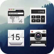 App Gray Simple Gentleman Style Icon Pack APK for Windows Phone