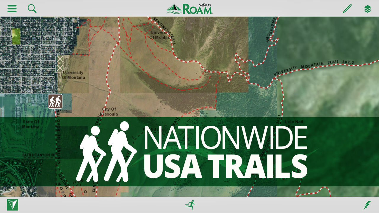 ROAM GPS Land Trails Topo Maps Android Apps On Google Play - Monta in us map