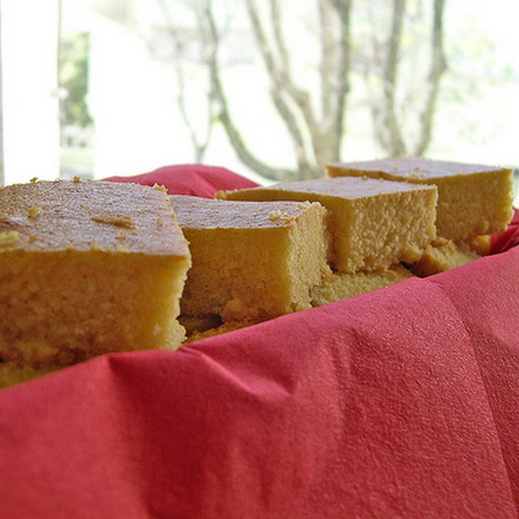 Corn, Olive Oil and Honey Cake Recipe