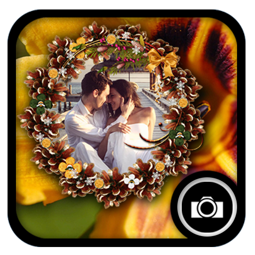 Flower Photo Frames แอป (APK) ดาวน์โหลดได้ฟรีสำหรับ Android/PC/Windows