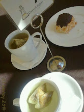 Photo: A cup of tea at Creswell Bakery is a treat with a friend. Warm and comforting.