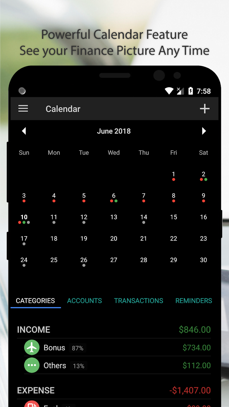 Bluecoins- Finance, Budget, Money, Expense Tracker Screenshot 4