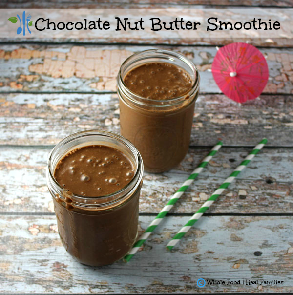 Chocolate Nut Butter (Spinach) Smoothie