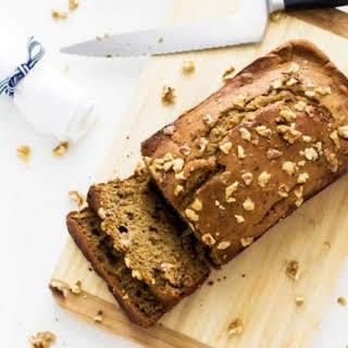 Healthy Gluten Free Banana Bread.