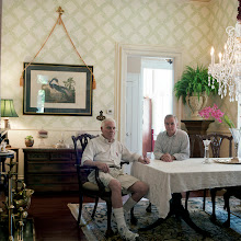 Photo: title: Gar Allen & Larry Bennett, St. Louis, Missouri date: 2012 relationship: friends, met through Tania Allen years known: 30-35