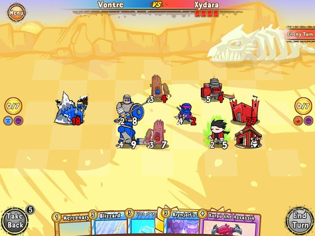 android Cards and Castles Screenshot 6