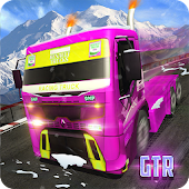 Winter Girls Truck Racing