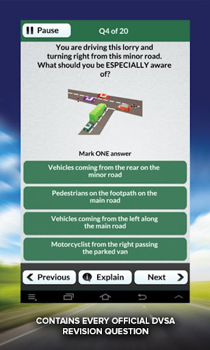 LGV PCV Theory Test