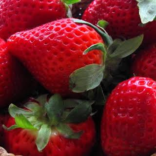 Strawberry And Mango Shortcake Trifle.