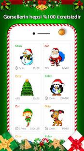 Sayılarla Boyama Noel Baba Boyama Sayfaları Hileli Apk Indir 14