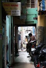 Photo: Year 2 Day 28 - Alley in Saigon