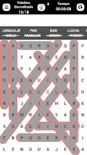 Word Search Spanish- screenshot thumbnail