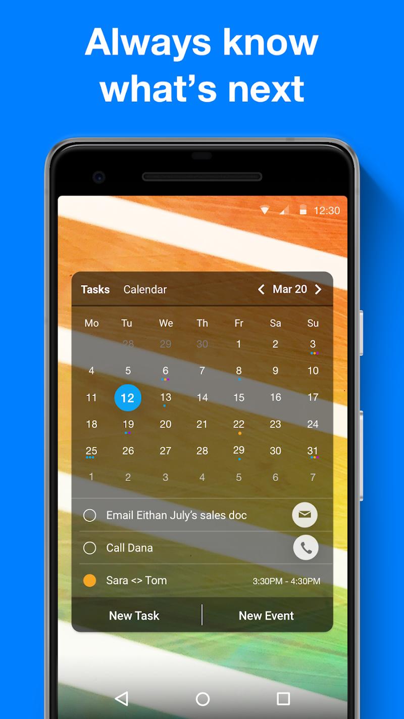 Any.do: To do list, Calendar, Reminders & Planner Screenshot 2