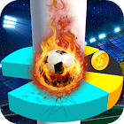 Soccer Star Helix Jump Game icon