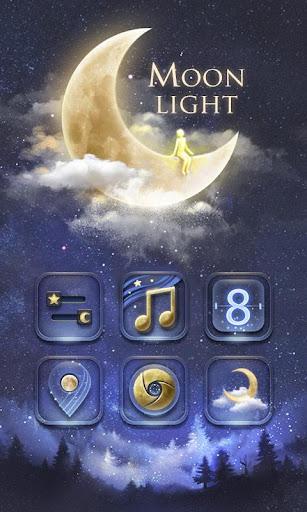 Moonlight GO Launcher Theme