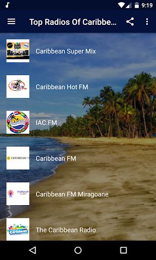 top radios of caribbean - reggae, ska and more! screenshot 1