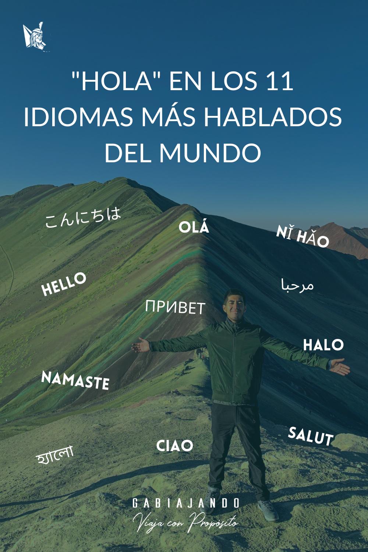 Como se dice hola en diferentes idiomas del mundo