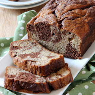 Marbled Chocolate Banana Bread Recipe