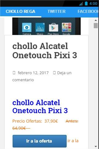 Chollo Regalos Ofertas- screenshot