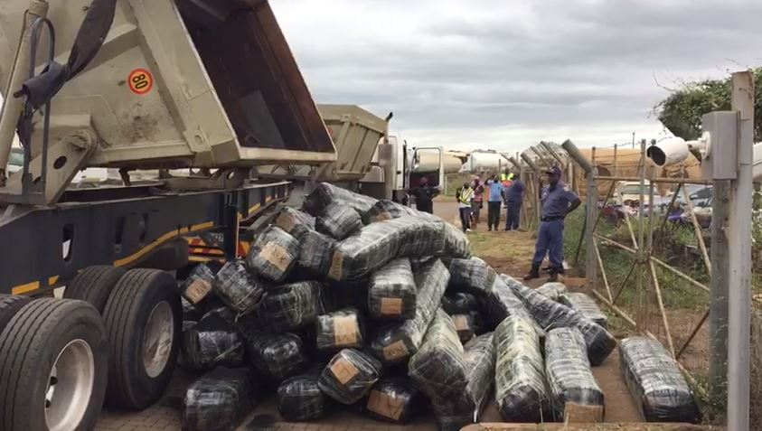 Counterfeit goods worth R6m found in truck returning from Mozambique