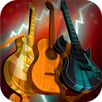 Guitars. Music Instruments Set Icon