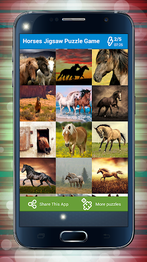 Horses Jigsaw Puzzle Game