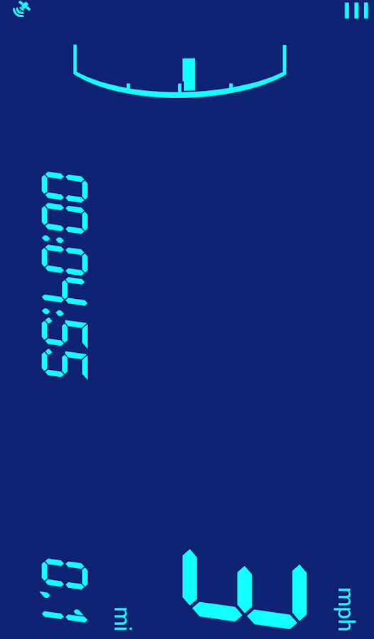 Digital speedometer: Digivel- screenshot